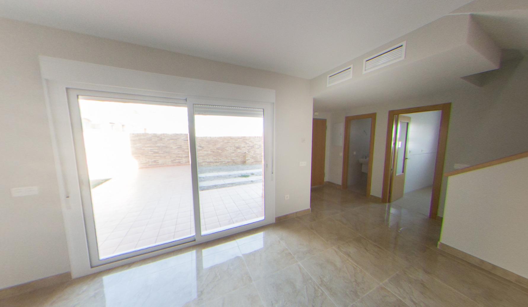 Casa de tres dormitorios en La Cañana